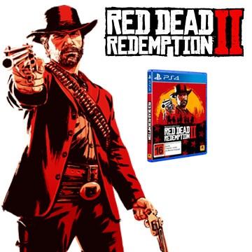 PS4 RED DEAD REDEMPTİON 2